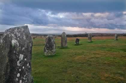 The Hurlers Standing Stone Circles